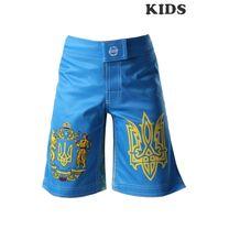 Шорти спортивні Berserk Sport MMA HETMAN KIDS blue (SH0909Bl, Синій)