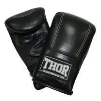 Снарядные перчатки THOR 605 из натуральной кожи (605-Leather-BLK, Черный)
