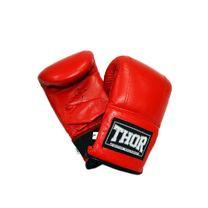 Снарядные перчатки THOR 606 из кожзама (606-PU-RED, Красный)