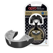 Капа OPRO Gold (Black/Pearl, 002193001)