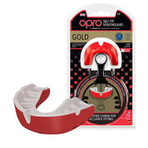 Капа OPRO Gold (Red/Pearl, 002193005)