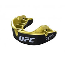 Капа OPRO Gold UFC Hologram Black (Metal/Gold, 00226001)