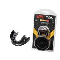 Капа OPRO Gold Braces UFC Hologram (Metal/Silver, 002262001)