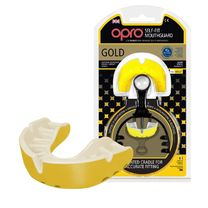Капа OPRO Gold (Yellow/Pearl, 002193003)