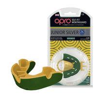 Капа OPRO Junior Silver (Green/Gold, 002190003)