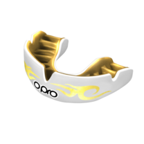 Капа OPRO Power-Fit Bling-Urban (White/Gold, 002269005)