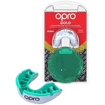 Капа OPRO Gold Series (White/Mintl, 002226006)