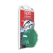 Капа OPRO Platinum (White/Mint/Black, 002229002)