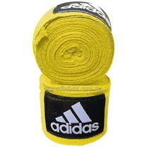 Боксерские бинты Adidas эластичные (ADIBP031, желтые)