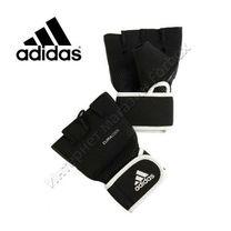 Утяжеленные перчатки Adidas для тренировок (ADIBW01, черные)