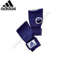 Швидкі бинти Adidas внутрішні рукавиці Gel Knuckle (ADIBP021, синя)