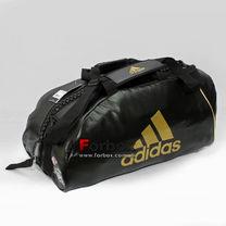 Спортивная сумка-рюкзак Адидас с логотипом WBC из PU 62см*31см*31см (ADIACC051WBC, черная)