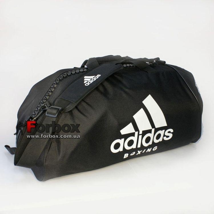 13b4888de09c Спортивная сумка Adidas с логотипом BOXING 62см*31см*31см (adiACC055B,  черно-