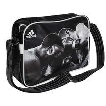 Сумка через плече Adidas з логотипом Бокс (ADIACC111CS, чорна)