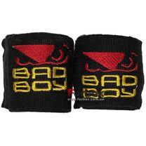 Бинты боксерские эластан Bad Boy MA-5464 (3м, черный)