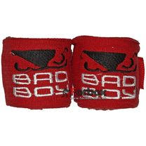 Бинты боксерские эластан Bad Boy MA-5464 (3м, красный)