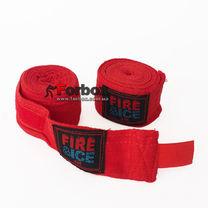 Бинты боксерские Fire&Ice хлопковые (BO-0001-R, красный)