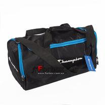 Сумка для спортзала бочонок Champion Duffle Bag (1108-BKBL, черно-синий)