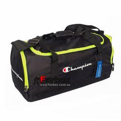 Сумка для спортзала бочонок Champion Duffle Bag (1108-BKG, черно-зеленый)