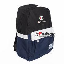 Рюкзак спортивный городской Champion (805-BLBK, сине-черный)