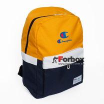 Рюкзак спортивный городской Champion (805-BLY, сине-желтый)
