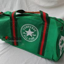 УЦЕНКА Сумка спортивная Бочонок GA-0520 Converse зеленая пятно на сумке
