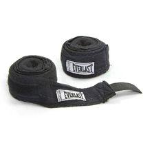 Бинты боксерские Everlast хлопок (4456R, черные)