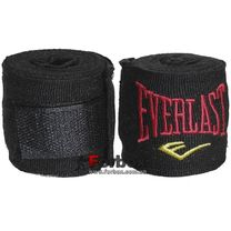 Бинти боксерські еластан Everlast MA-5465 (3м, чорний)