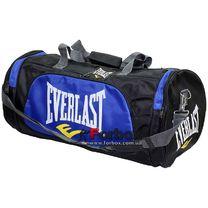 Сумка для спортзала Бочонок Everlast (GA-016-B, синяя)