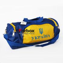 Сумка для спортзалу Бочонок Everlast (GA-016-U, синьо-жовтий)