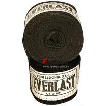 Боксерские бинты Everlast хлопок (VL-0003, черные)