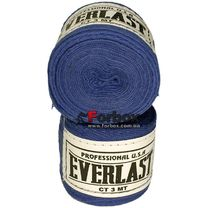 Боксерские бинты Everlast хлопок (VL-0003, синие)