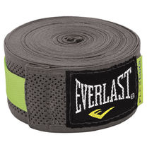 Боксерские бинты Everlast FlexCool эластичные (4458G, серые)
