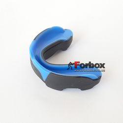 Капа боксерская одночелюстная Everlast Evergel двухкомпонентная (1400009-BL, синяя)