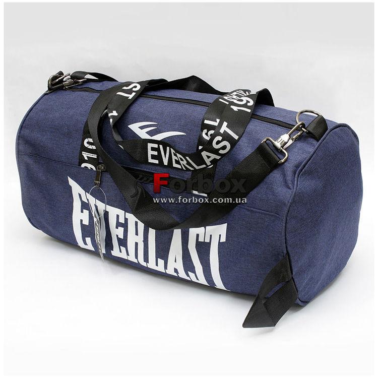 a9dee6af296d Сумка для спортзала Everlast бочонок (GA-0155-B, синяя) купить в ...