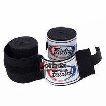 Боксерские бинты эластичные Fairtex (HW2-BK, Черный)