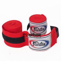 Боксерские бинты эластичные Fairtex (HW2-R, Красный)