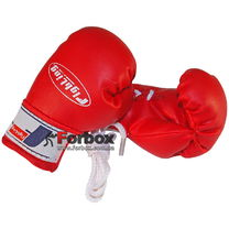 Сувенирные перчатки Mini Fighting Sports (WINMBG, красные)