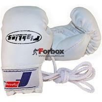Сувенирные перчатки Mini Fighting Sports (WINMBG, белые)