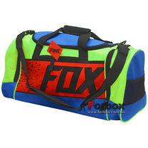 Сумка спортивная Fox (GA-5678-1, салатовый-синий-красный)