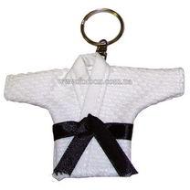 Сувенирное кимоно Green Hill на кольце (JS-125, белое)