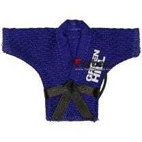 Сувенирное кимоно Green Hill на шнурках (JS-125, синие)