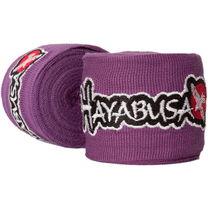 Боксерские бинты Hayabusa Hand Wraps эластичные (HHWE, фиолетовые)