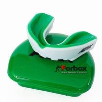 Капа односторонняя двухкомпонентная ATAK в коробочке (BO-1996-L, бело-зеленый)