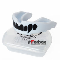 Капа односторонняя Vampire взрослая в коробочке (BO-3504-L, белая)