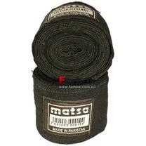 Бинты боксерские Matsa эластичные (MA-0031, черные)
