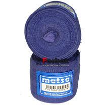 УЦЕНКА Бинти боксерські Matsa еластичні сині (пошкодження стрічки)