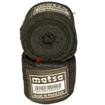 Бинт боксерский Matsa хлопковый (MA-0030, черные)