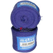Бинт боксерский Matsa хлопковый (MA-0030, синий)