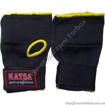 Внутренняя перчатка Matsa быстрые бинты (MA-6022, черные)